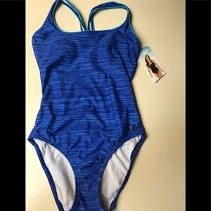 NWT speedo women's one piece swimsuit